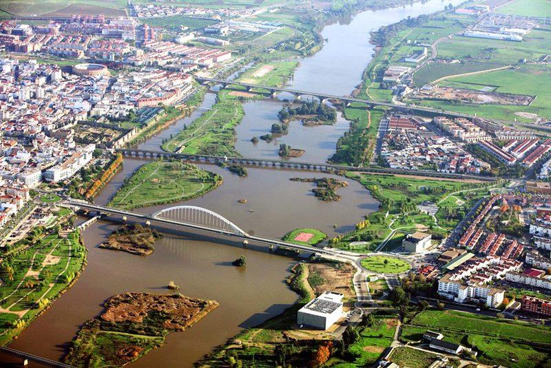 Vista aérea Mérida