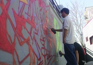 Zona Grafiti y Break-Dance