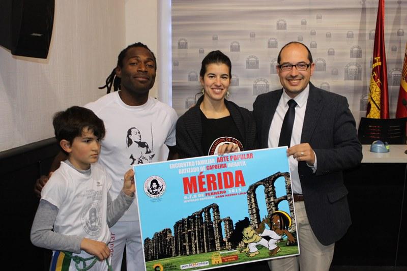 Mérida acoge el primer fin de semana de febrero el II Encuentro de Capoeira Familiar