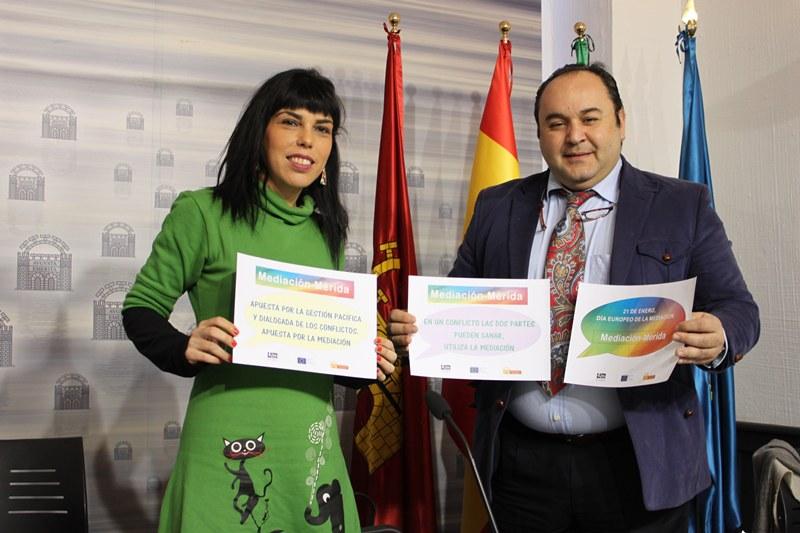 El Ayuntamiento celebra el Día Europeo de la Mediación junto a los ayuntamientos de Sevilla y Almendralejo