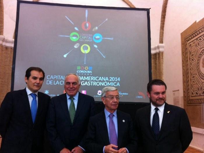 El alcalde ha asistido esta mañana a la clausura de la capitalidad gastronómica de Córdoba