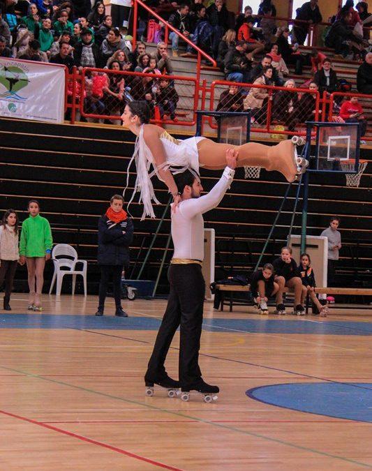 Unos 368 deportistas participaron en PATINOX el fin de semana