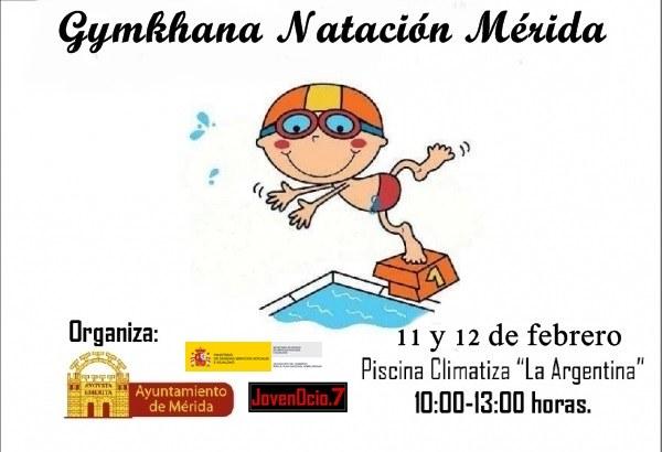 cartel gymkana natación 2015