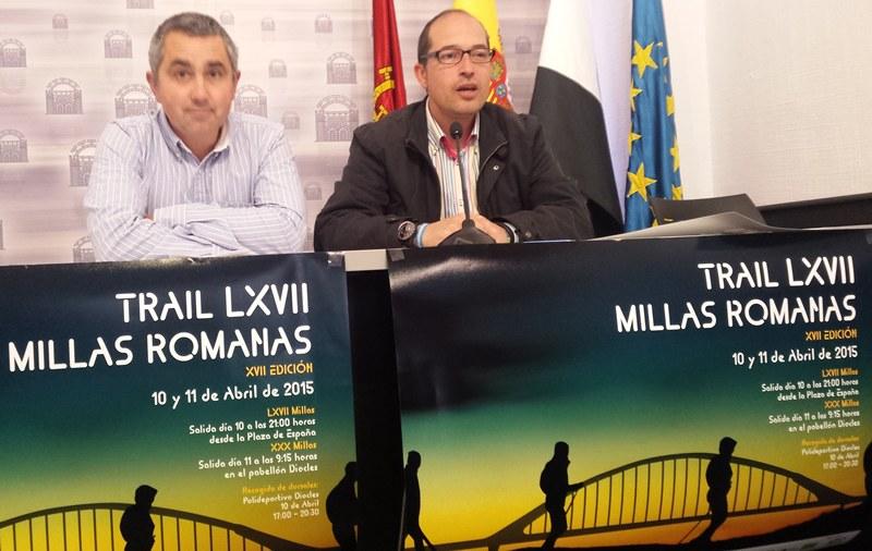 550 inscritos en las décimo séptimas LXVII Millas Romanas
