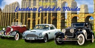 El domingo se celebra la III Concentración de Clásicos Ciudad de Mérida
