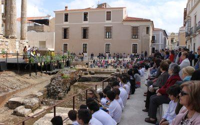El Ayuntamiento, el Consorcio y el CPR celebran el Día del Patrimonio con los colegios de la ciudad