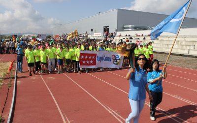 Unos 400 escolares de nueve centros participan en los I Juegos Olímpicos Paula Montal