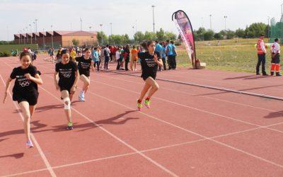 800 escolares participan en las Olimpiadas Escolares