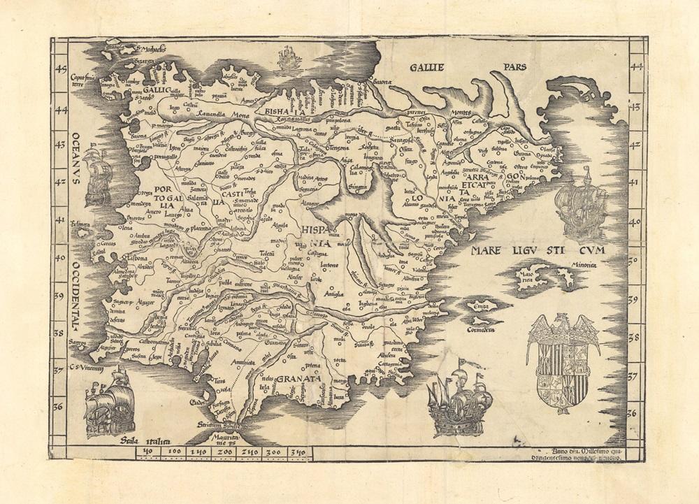 Tabula Nova Hispaniae (1499)