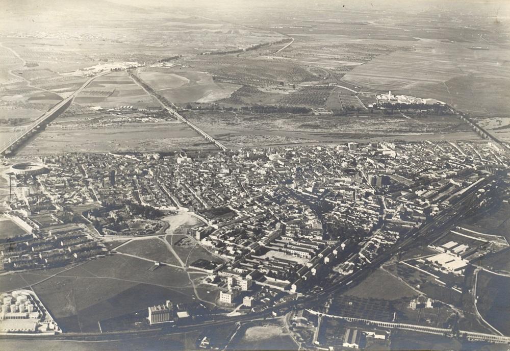 Vista aérea de Mérida (1965)