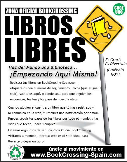La biblioteca municipal pone en marcha la actividad bookcrossing, sobre intercambio de libros