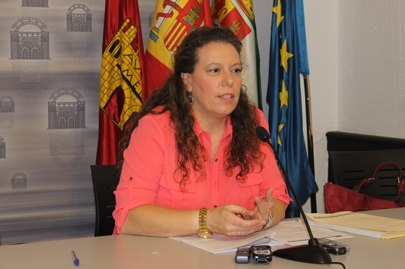 Carmen Yáñez, portavoz equipo de gobierno.