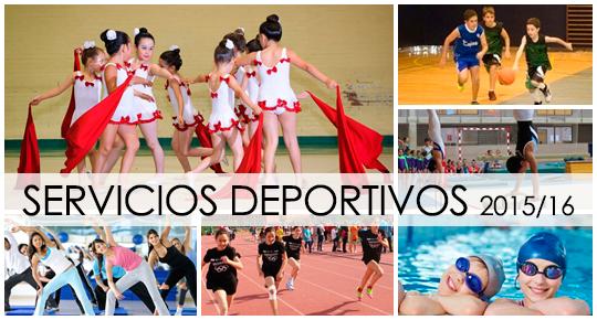 Servicios Deportivos 2015/16
