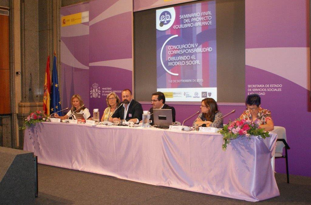 El Ayuntamiento participa en el seminario final del proyecto Equilibro/Balance