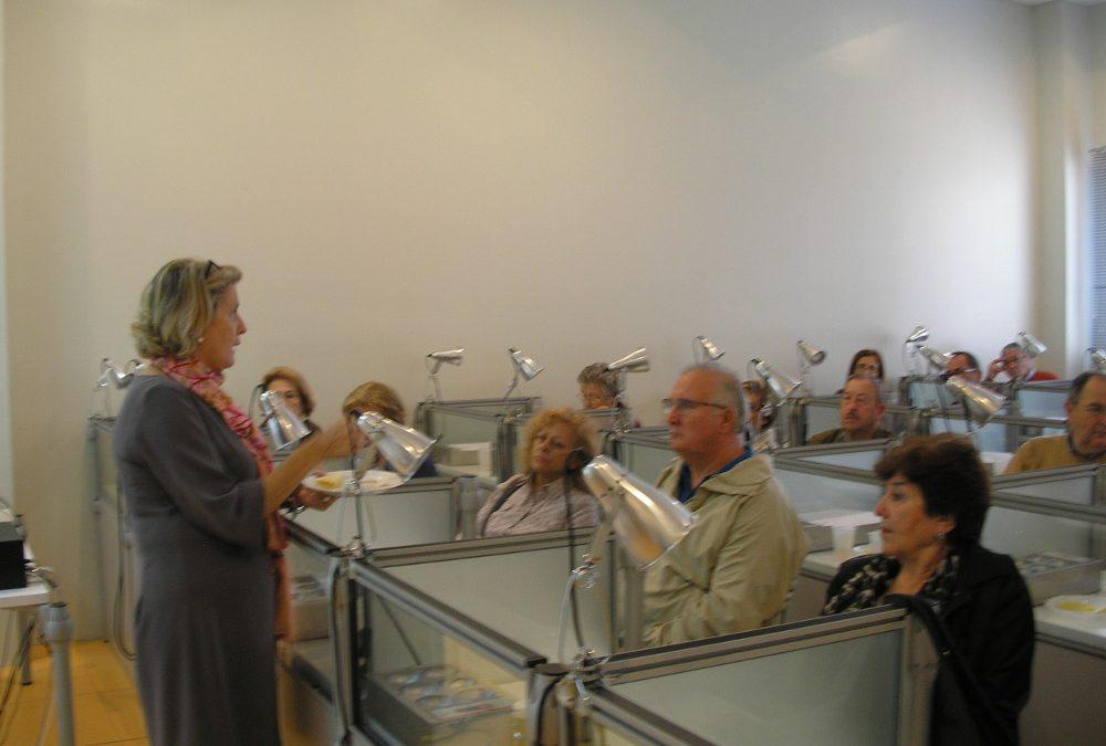 Los hogares de mayores participan en las jornadas Explora Sensaciones