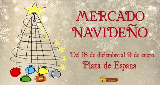 El mercado navideño de Artesanía se celebrará del 18 de diciembre al 9 de enero en la Plaza de España