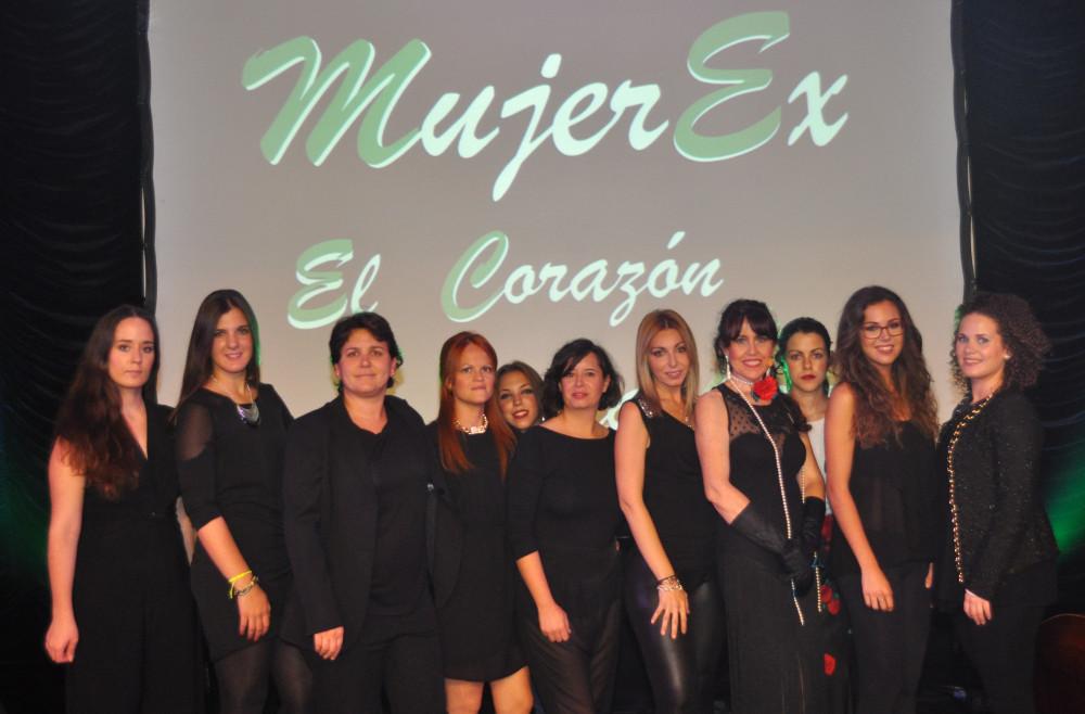 Mujerex, el Corazón de la Copla, el próximo sábado en la Sala Trajano