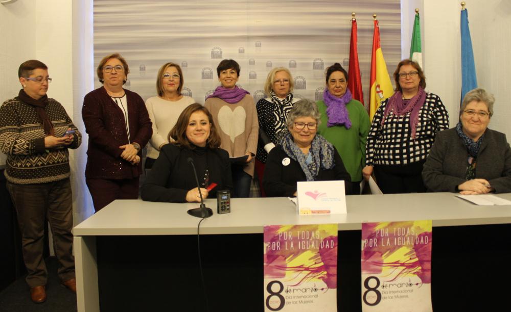 El Consejo Local de las Mujeres convoca una concentración en la Plaza de España el 8 de marzo