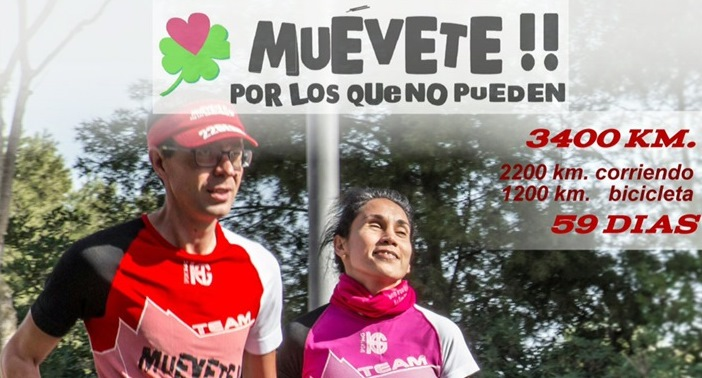 Dos deportistas discapacitados visuales pasarán por Mérida en la Vuelta Solidaria a España
