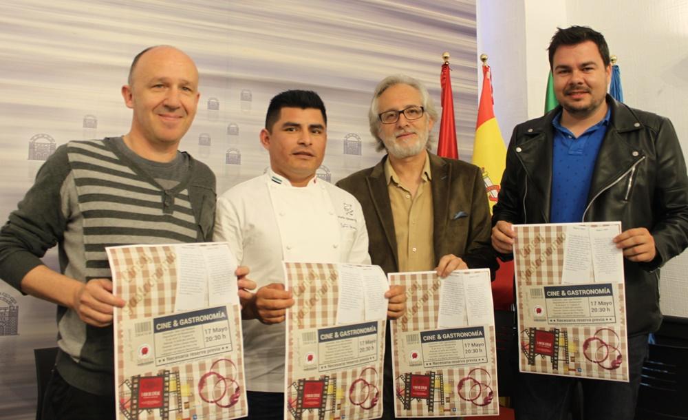 Carlos Castaño, Carlos Lévano, Ángel Briz y Pedro Blas Vadillo