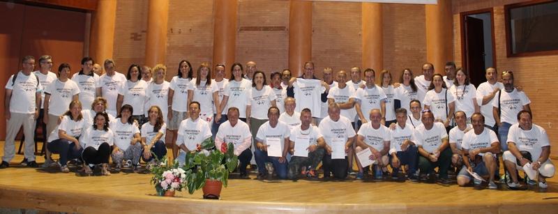 Alumnos, profesores y representantes de instituciones