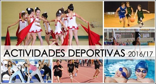 Actividades Deportivas 2016/2017