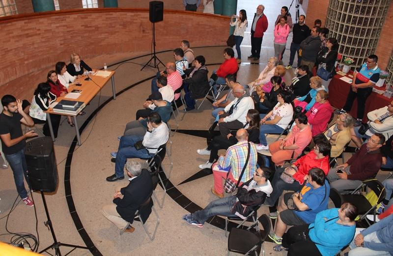 Acto en el centro cultural Alcazaba