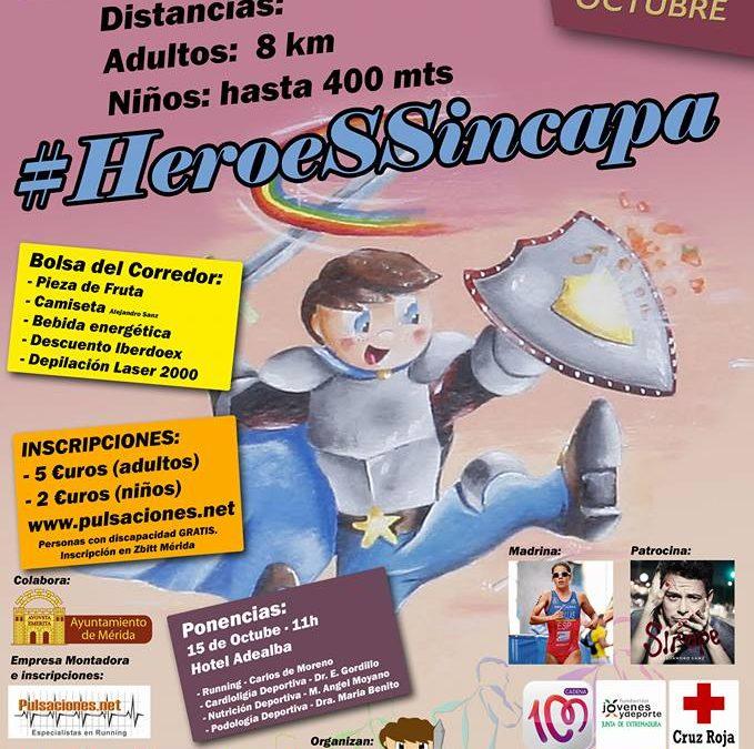 Trescientos inscritos para la carrera popular del domingo Héroes sin capa, como apoyo al deporte inclusivo