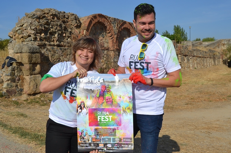 Mérida se teñirá de color el 22 de octubre en la  Run 4 Fest
