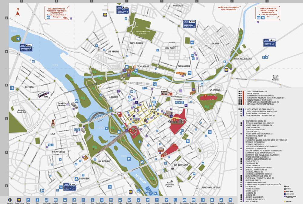 El nuevo plano turístico está ya disponible en la oficina de turismo