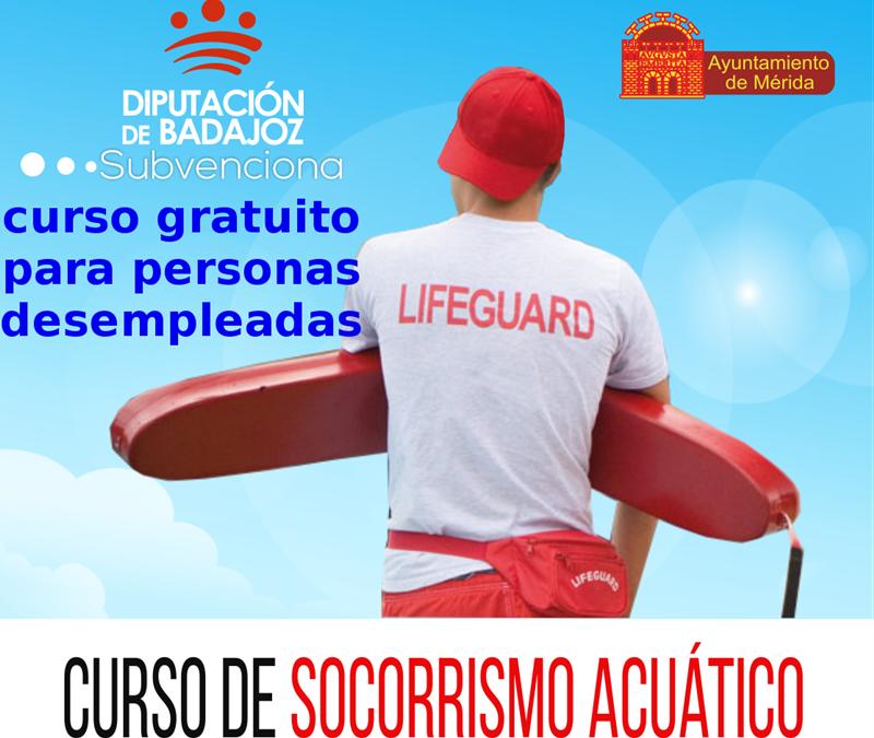 El viernes se cierra el plazo de inscripción en un curso gratuito de socorrismo acuático