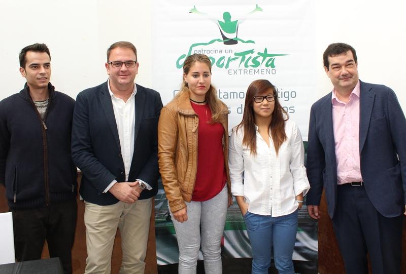 El programa Patrocina un Deportista ayudará a Isabel  Yinghua Hdez. y Estefanía Fernández a llegar a Tokio 2020