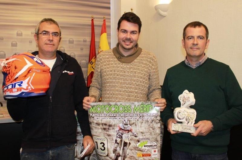 El circuito Vía de la Plata acoge un campeonato regional de motocross cinco años después