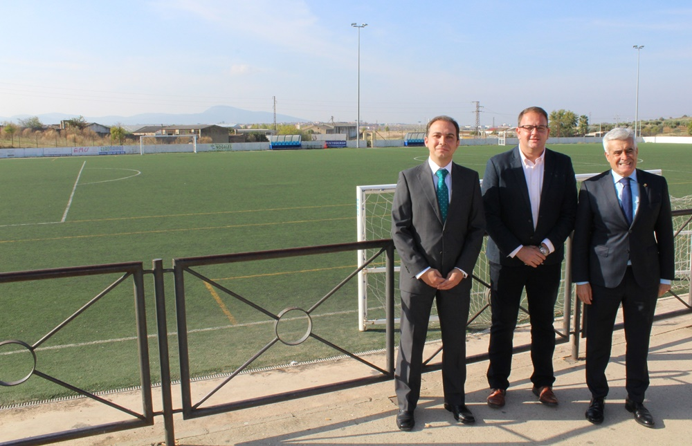 Redexis Gas facilita el gas natural a los Campos de Fútbol de la Federación 'Miguel Patón Mosquera'