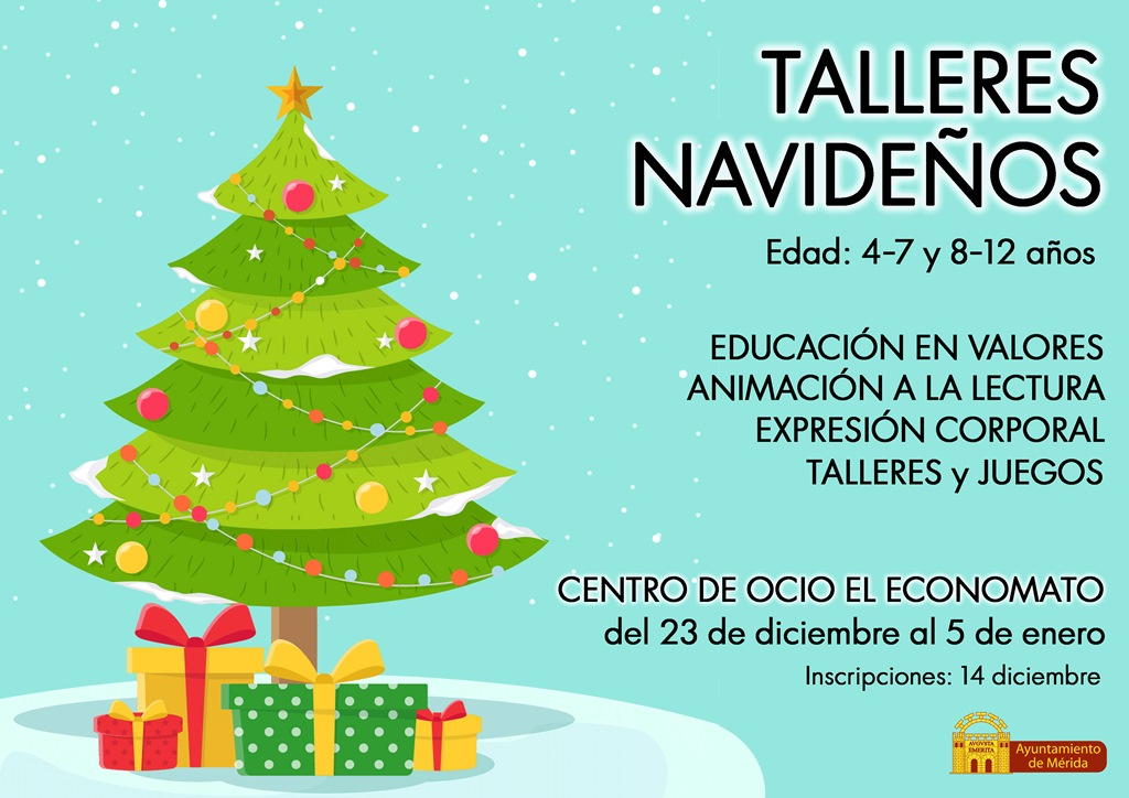 talleres-navideños-cartel