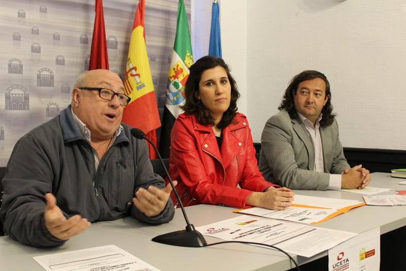 Concajela y organizadores de UCETA (1)