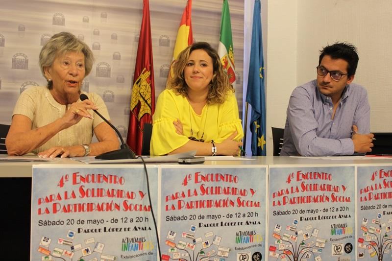 El Parque López de Ayala acoge el sábado el IV Encuentro para la Solidaridad y la Participación Social