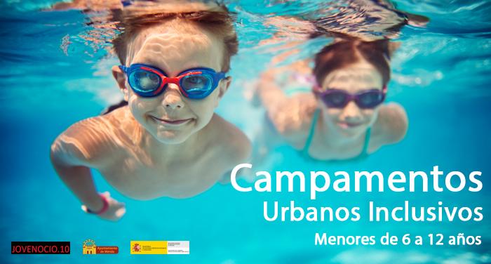 Cuatro campamentos urbanos inclusivos ofrecerán 320 plazas para menores de 6 a 12 años