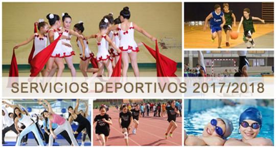 Servicios Deportivos 2017/18