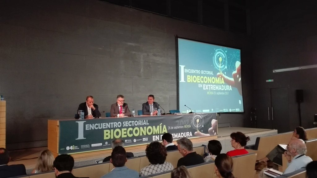 Mérida se presenta como destino de negocios en el I Encuentro Sectorial de Bioeconomía de Extremadura