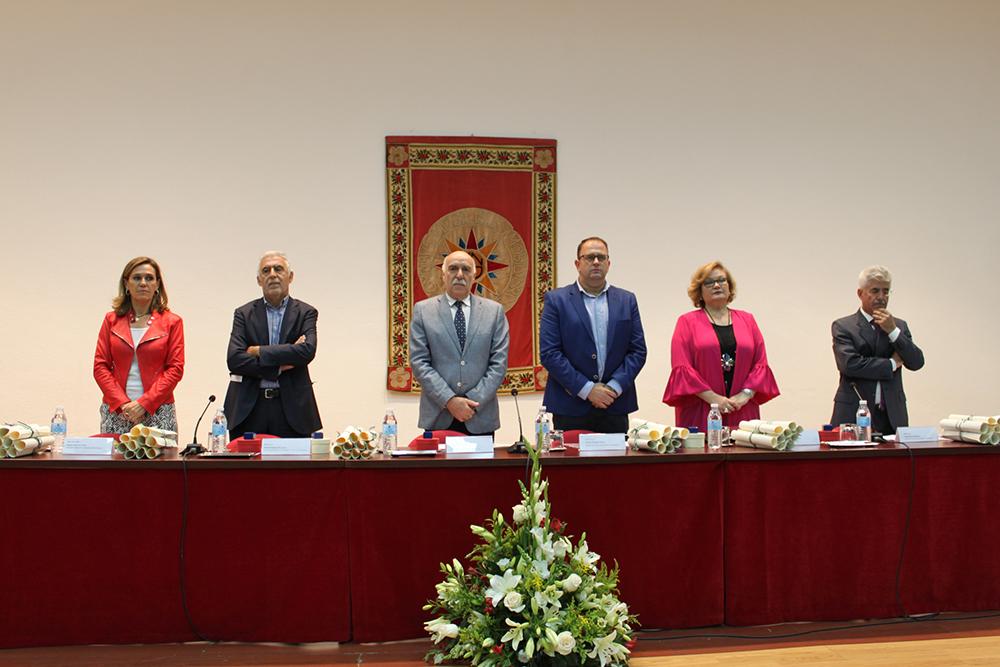 """El alcalde, Antonio Rodríguez Osuna, destaca el papel de la UNED como """"referente universitario"""" de Mérida"""