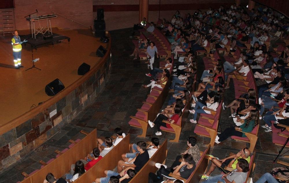 Un momento del Road show en el centro cultural Alcazaba