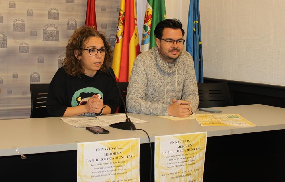 Silvia Fernández presentó las actividades de las bibliotecas