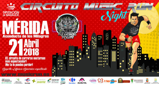 MusicRun Night Mérida