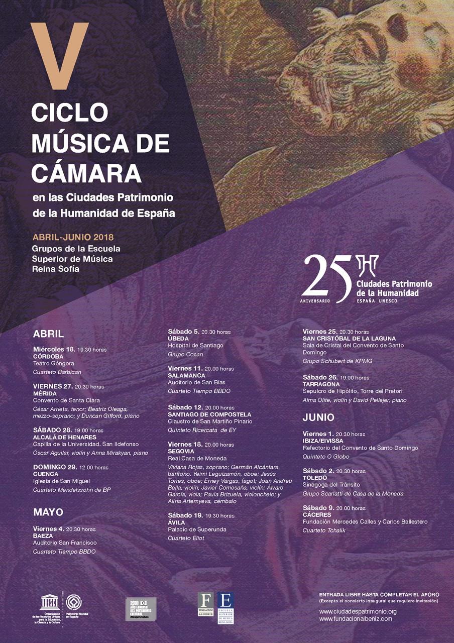 Mérida Próximos Eventos » » V Ciclo Música de Camara Grupo Ciudades ...