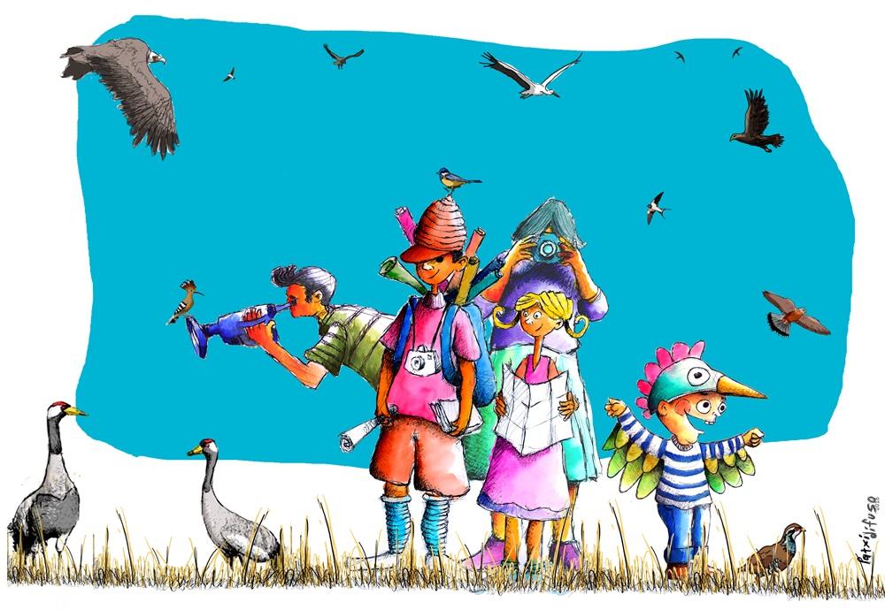 Mañana arrancan las actividades de Mayo, el mes de las aves de Mérida