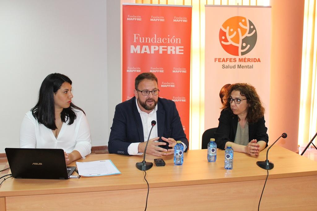 El Ayuntamiento, Feafes Mérida y Fundación Mapfre, unidos por el empleo