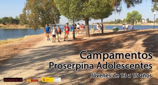 Campamentos Proserpina Adolescentes