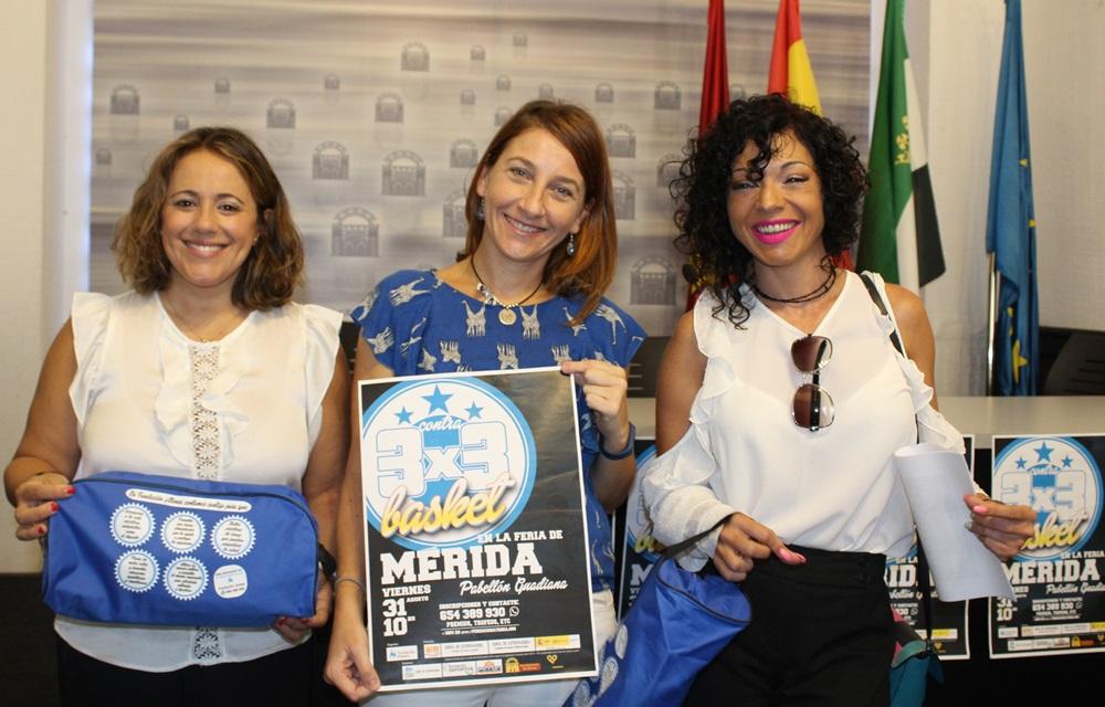 Mérida acoge por quinto año consecutivo el 3×3 de básquet de la Fundación Atenea