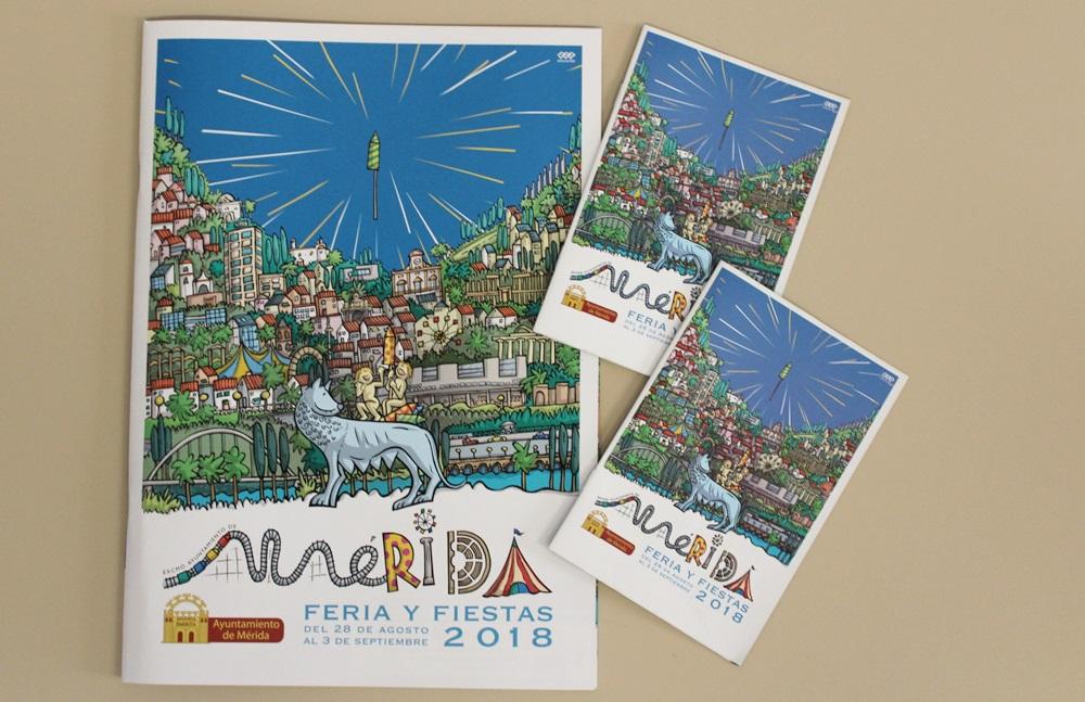 La revista y el programa de Ferias se pueden adquirir en la puerta principal del Ayuntamiento